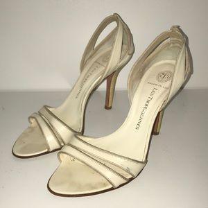 Italian open toe d'orsay style heels. Size 38.5